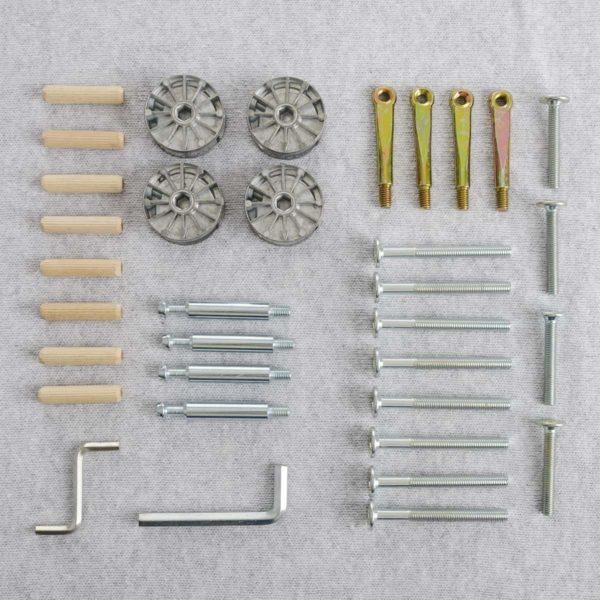 Set Screws for babybed Antique