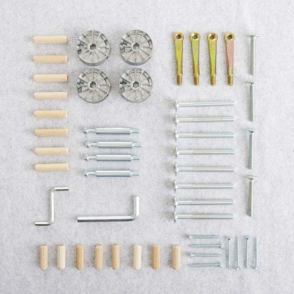 Schroeven set voor ledikant Baldaquin/Design en Louis