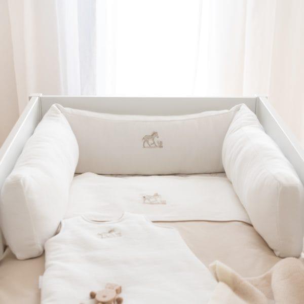 Cot bed Bumper 210 cm