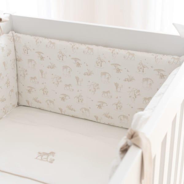 Cot bed Bumper 70 cm