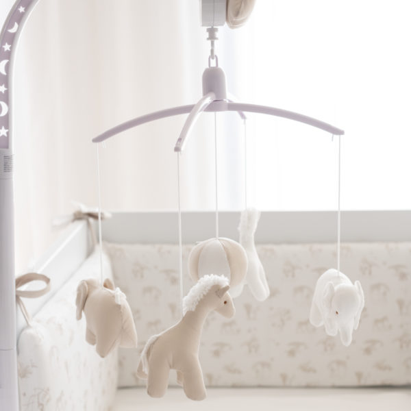 Musical mobile for baby