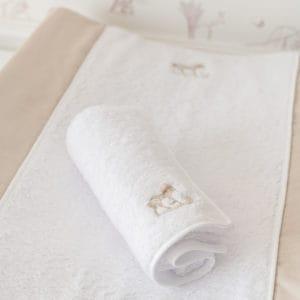 Serviette de bain pour matelas à langer, Safari