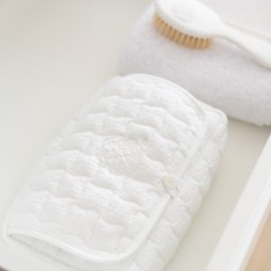 Housse de voyage pour lingettes bébé, Cotton White
