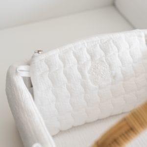 Pochette de rangement, Cotton White
