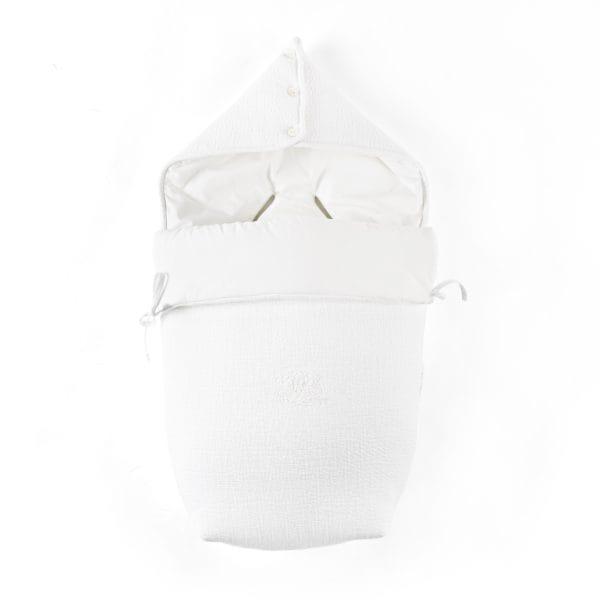 Nid d'ange pour siège auto Pebble PRO, Cotton White