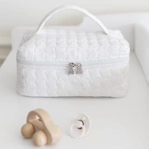 Trousse de toilette Cotton White