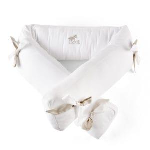 cot bed bumper 70cm Safari