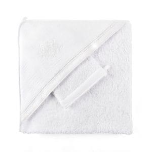 Cap de bain Cotton White