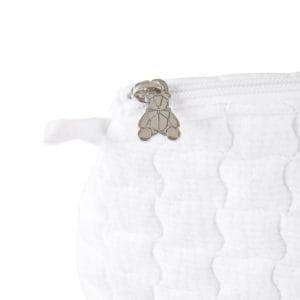 Trousse de toilette pour bébé, Cotton White